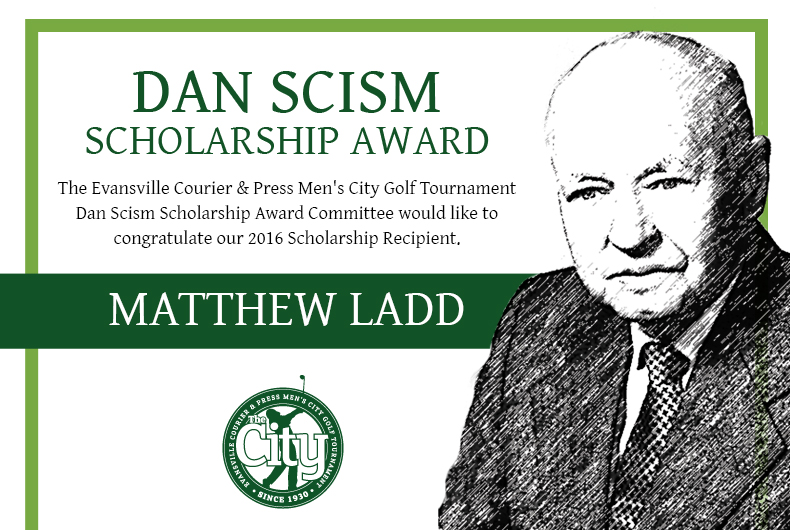 2016 Scism Scholarship Winner Matthew Ladd