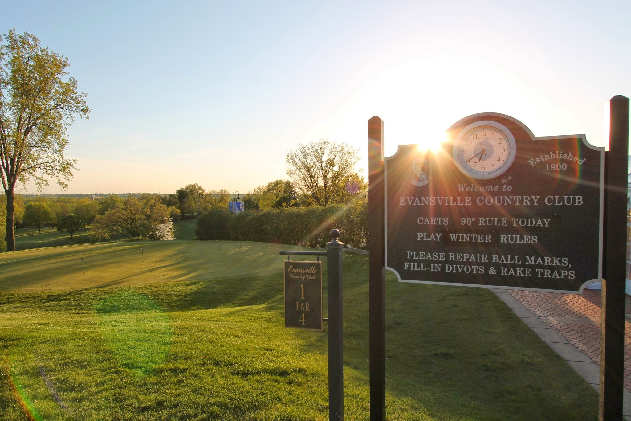 Evansville Country Club - Evansville City Golf Tournament